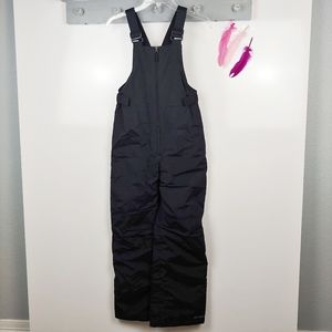 Girl's Sz L 14/16 | Columbia Snow Suit Bib Black